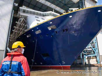 Emder Hafen rüstet sich für neues Meyer-Schiff - Emder Zeitung