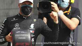 Bottas grabs pole position from Hamilton - South Coast Register