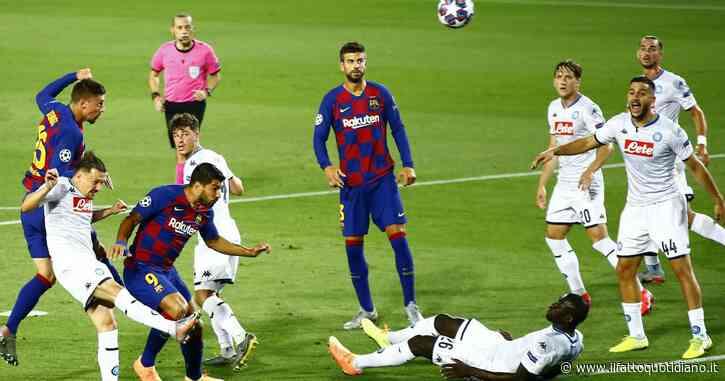 Barcellona – Napoli 3 a 1. A Messi basta un tempo al Camp Nou per infrangere il sogno degli azzurri in Champions