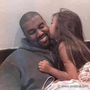 Kanye West Dances with Daughter North, as Kim Kardashian Records the Sweet Moment