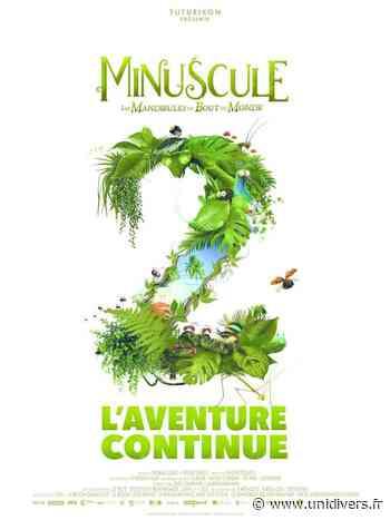 Projection en plein air du film Minuscule 2 à Gonesse (95) Parvis de la Salle Jacques Brel mardi 25 août 2020 - Unidivers