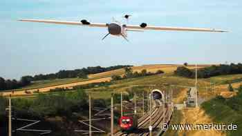 Drohnen aus Gilching checken das Bahnnetz - Merkur.de
