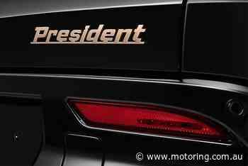 VinFast President V8 SUV revealed