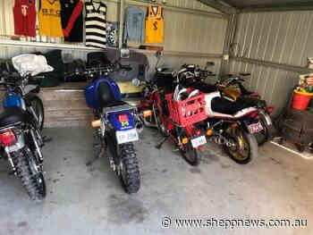 Shepparton police find stolen bike dumped and damaged - Shepparton News
