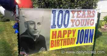Turning 100: Huntley man, a WWII veteran, celebrates milestone birthday