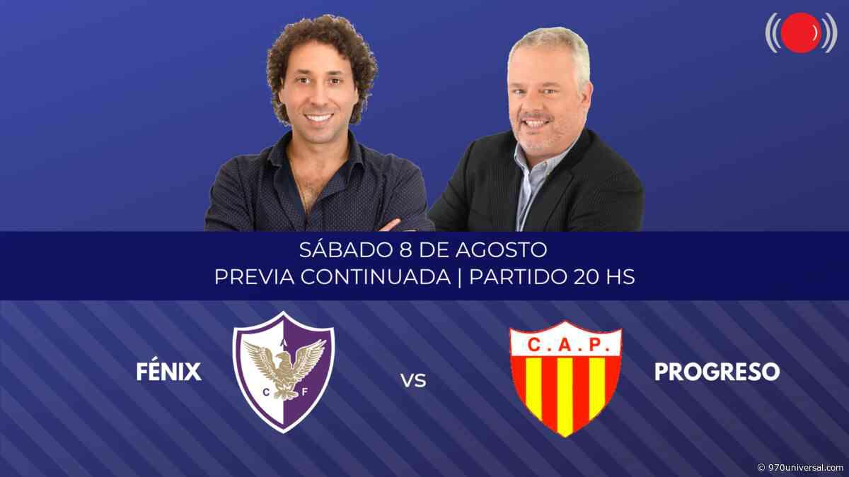 Fénix y Progreso se enfrentan en el Torneo Apertura - 970universal.com