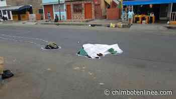 Poblador murió atropellado en el pueblo joven El Progreso y chofer se fuga en Chimbote - Diario Digital Chimbote en Línea