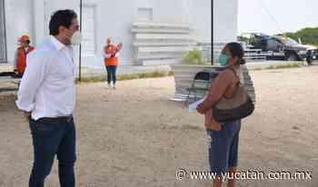 Dan láminas de zinc en Progreso - El Diario de Yucatán