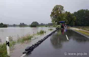 Nach Überflutung: Staatsstraße 2104 nun abgesperrt - Freilassing - Passauer Neue Presse