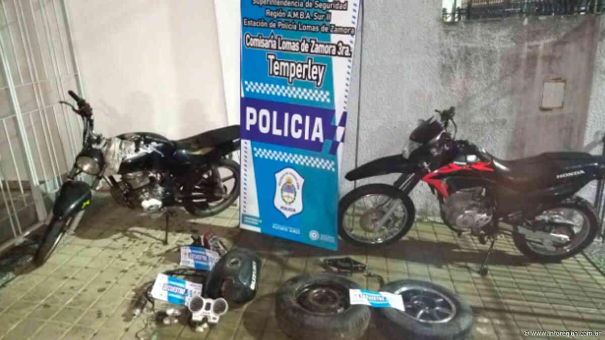 Allanamientos y detención de motochorros en Temperley - InfoRegión