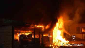 Brand in Hessisch Lichtenau: Eine Person wird verletzt - HNA.de
