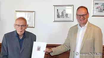 Hessisch Lichtenau: Ehrenbrief für langjähriges Engagement für Dr. Carl-Detlef Cornelius - HNA.de