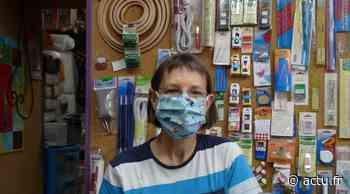 Elle fabrique des masques sur le thème des parapluies de Cherbourg - actu.fr