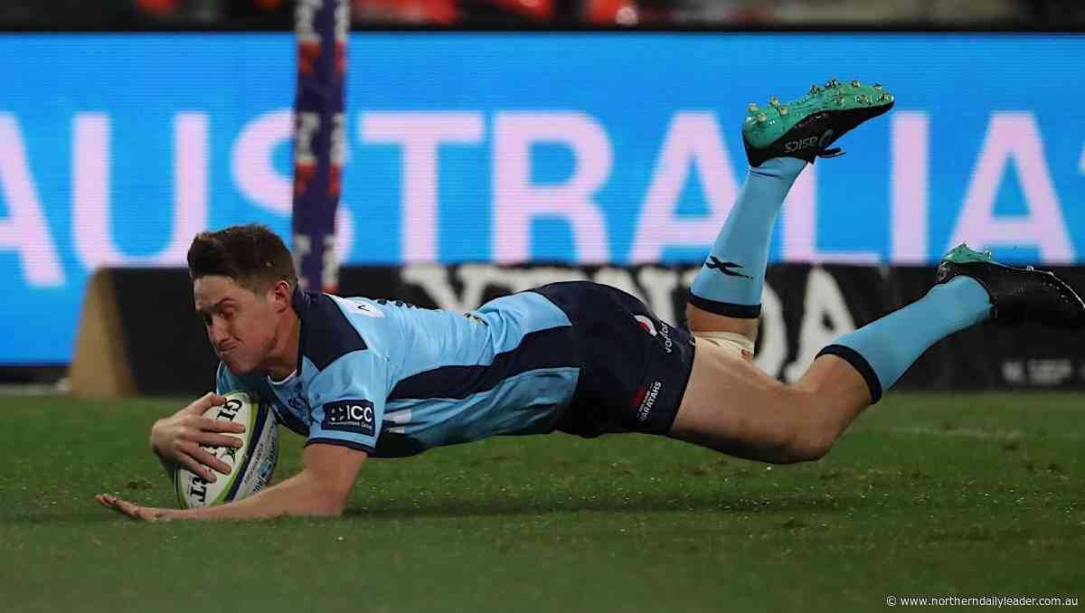 Super Rugby AU: Alex Newsome scores spectacular try as Waratahs thump Reds 45-12 - The Northern Daily Leader