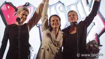 Kommentar von Claudia Roth: Die Welt braucht mutige Frauen – nicht nur in Weißrussland - BILD