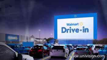 Walmart presenta su primer autocine y habrá algunas paradas en Pensilvania - Univision
