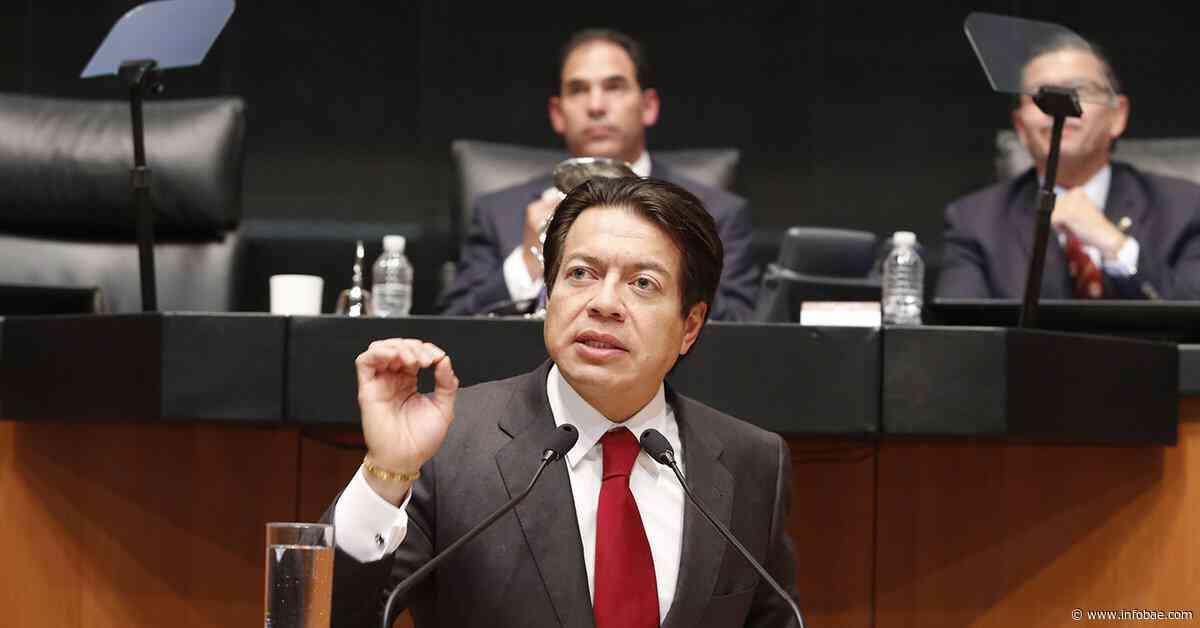 Sigue la batalla al interior de Morena: Mario Delgado consigue apoyo a pesar de críticas por encuesta abierta - infobae