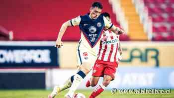 Claudio Baeza y Juan Delgado participaron en empate de Necaxa ante Club América - AlAireLibre.cl