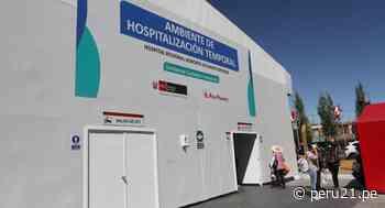 Hospital Honorio Delgado de Arequipa tiene camas, pero faltan médicos para atender a pacientes COVID-19 - Diario Perú21