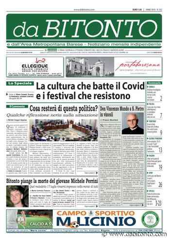 """La cultura batte il Coronavirus. Nel nuovo numero del """"da BITONTO"""" la sfida di questa """"Estate Covid Proof"""" - da Bitonto"""
