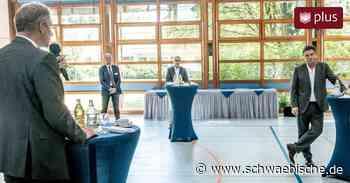 Manne Lucha informiert sich über Quartiersprojekte in Tettnang - Schwäbische