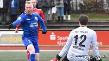 Fußball: Oberligist RSV Meinerzhagen testet am Samstag gegen Rot-Weiß Ahlen - come-on.de