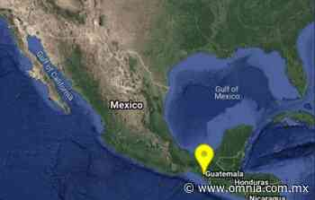 Sacude sismo de 4.4 grados el norte de Mapastepec, Chiapas - omnia.com.mx