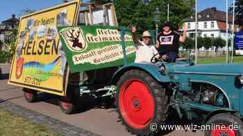 Treckerkorso bietet in Bad Arolsen einen Hauch von Viehmarkt - wlz-online.de