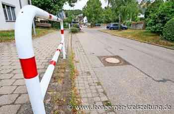 Weissach: Erneute Straßensanierung in Flacht - Leonberger Kreiszeitung - Leonberger Kreiszeitung