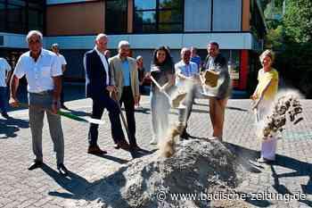 Die Millionenbaustelle in Grenzach-Wyhlen ist eröffnet - Grenzach-Wyhlen - Badische Zeitung - Badische Zeitung
