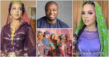 Billionaire daughter Adama Indimi weds rich Kogi prince Malik Ado-Ibrahim (photos, videos) - Legit
