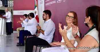 """""""Me anima, me entusiasma"""": AMLO agradeció a Beatriz Gutiérrez Müller por acompañarlo a Baja California Sur - infobae"""
