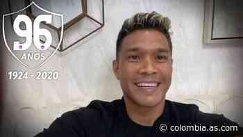 Teo Gutiérrez celebra los 96 años de historia de Junior - AS Colombia