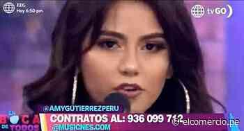 """Amy Gutiérrez estrena """"Alguien"""" su nuevo sencillo - El Comercio Perú"""