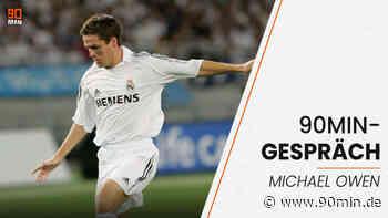 """""""Wie in einem Goldfischglas"""" - Michael Owen im 90min-Gespräch über sein Jahr bei Real Madrid - 90min"""