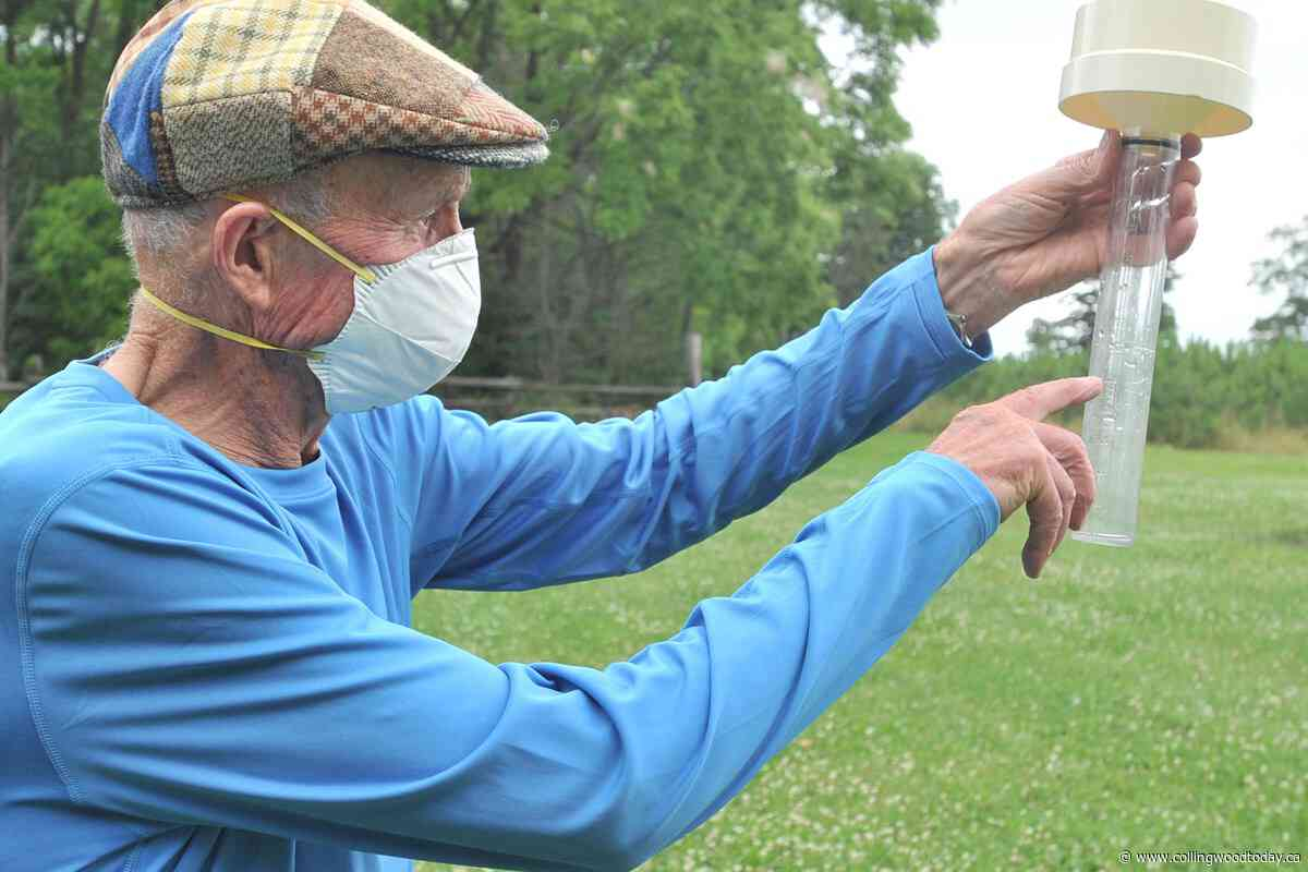 Meet the Barrie area's loyal and committed weather watcher - CollingwoodToday.ca