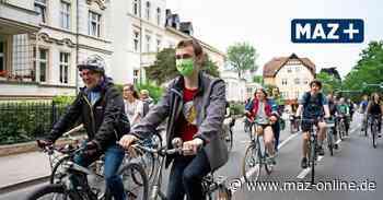 24-Stunden-Mahnwache von Fridays for Future in Neuruppin - Märkische Allgemeine Zeitung