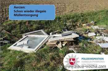 Illegale Müllentsorgung in Aerzen - zum wiederholten Mal » Aerzen - neue Woche