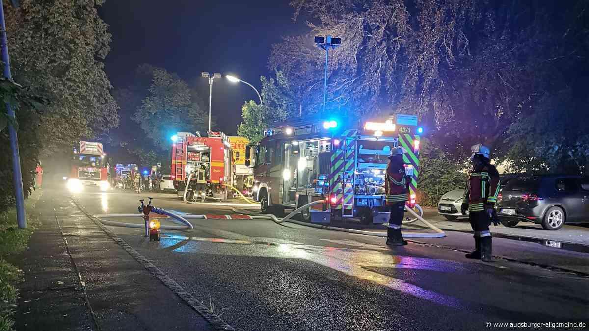 Großbrand: Greifenberg erlebt die zweite Feuernacht in Folge