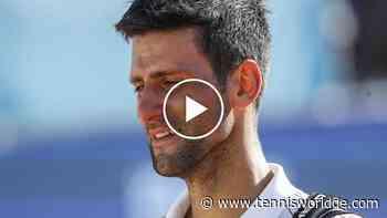Novak Djokovic ist eine Hommage an die Opfer nach der tragischen Explosion in Beirut - Tennis World DE