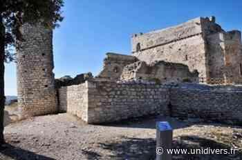 Visite du Château de Thouzon CHÂTEAU DE THOUZON samedi 19 septembre 2020 - Unidivers