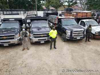 En Arauca aprehendidos cuatro vehículos de carga con placas venezolanas - Diario del Sur