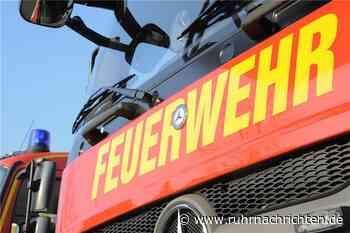 Feuer am Sonntagmorgen: Einfamilienhaus in Aplerbeck brennt - Ruhr Nachrichten