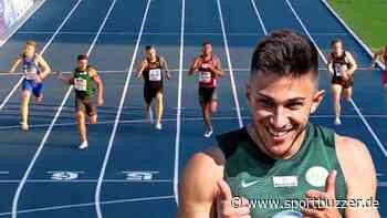 Deniz Almas vom VfL Wolfsburg wird deutscher Meister über 100 Meter - Sportbuzzer