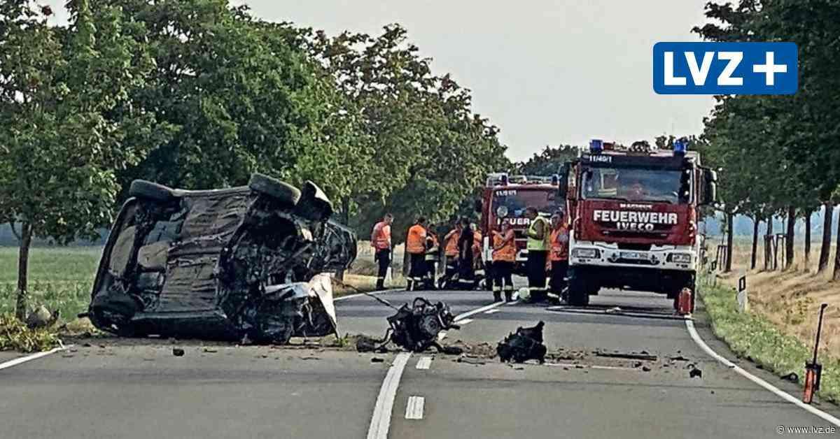 B87 bei Eilenburg: Auto prallt gegen Baum - Leipziger Volkszeitung