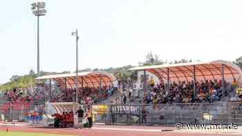 Fußball: Sachsenpokal-Halbfinale Eilenburg gegen Lok Leipzig vor Zuschauern - MDR