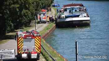Schiffsführer bei Arbeitsunfall in Bramsche lebensgefährlich verletzt - Neue Osnabrücker Zeitung