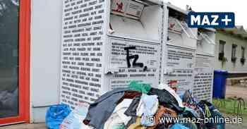 Luckenwalde: Kleiderspenden werden an falscher Adresse abgelegt - Märkische Allgemeine Zeitung