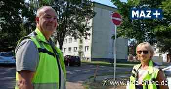 Luckenwalde: Parkplatz an der Straße des Friedens hat jetzt Ein- und Ausfahrt - Märkische Allgemeine Zeitung