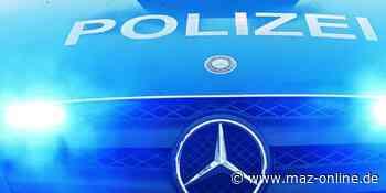 Luckenwalde: Motorradfahrer stürzt bei Unfall - Märkische Allgemeine Zeitung